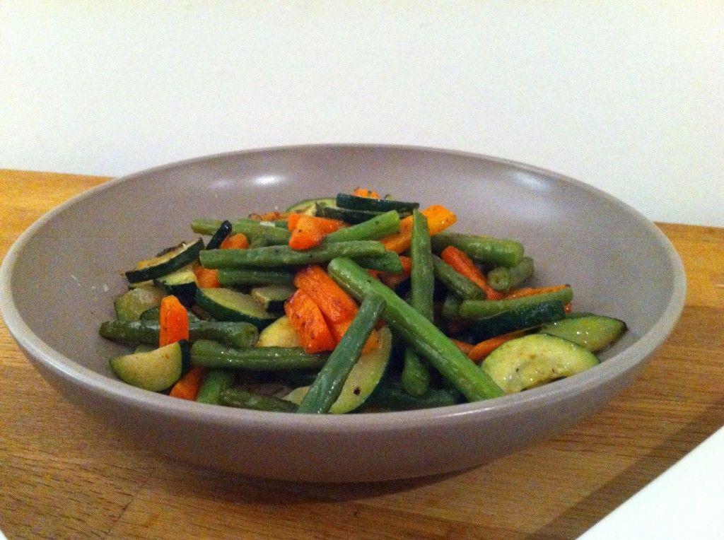 gesauteerde groenten