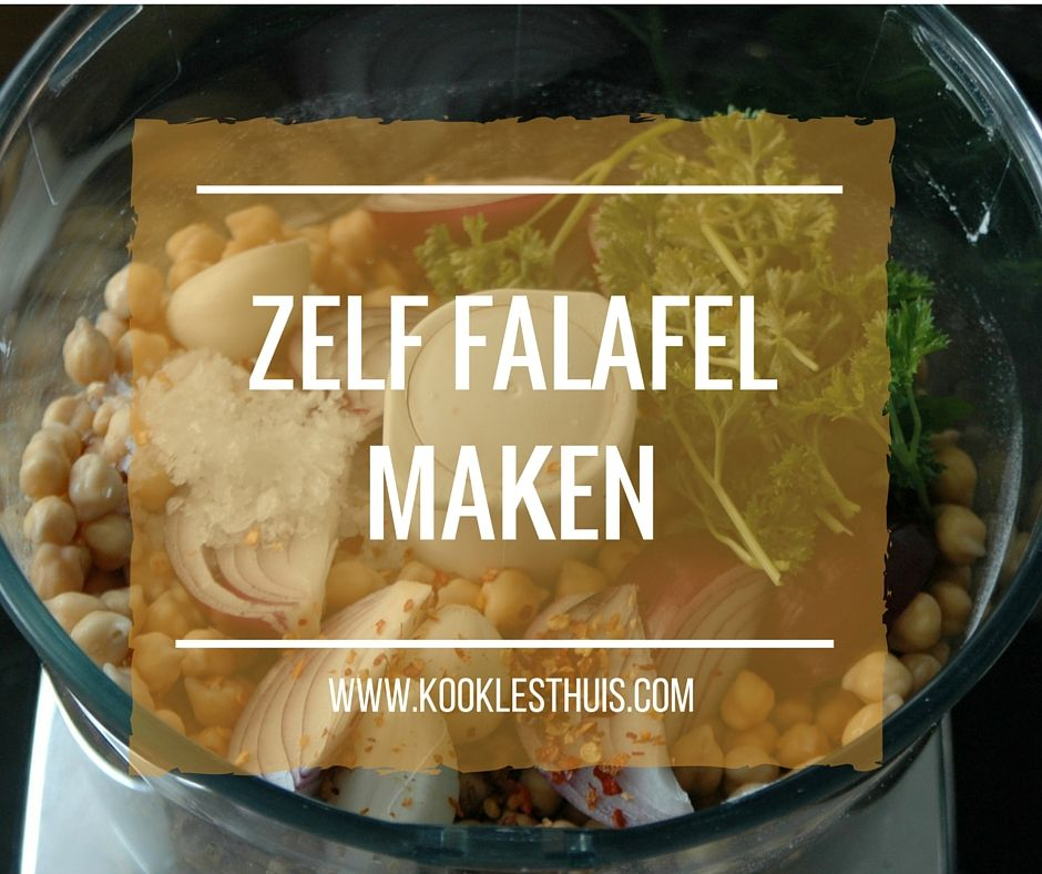 falafel maken