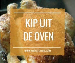 kip uit de oven