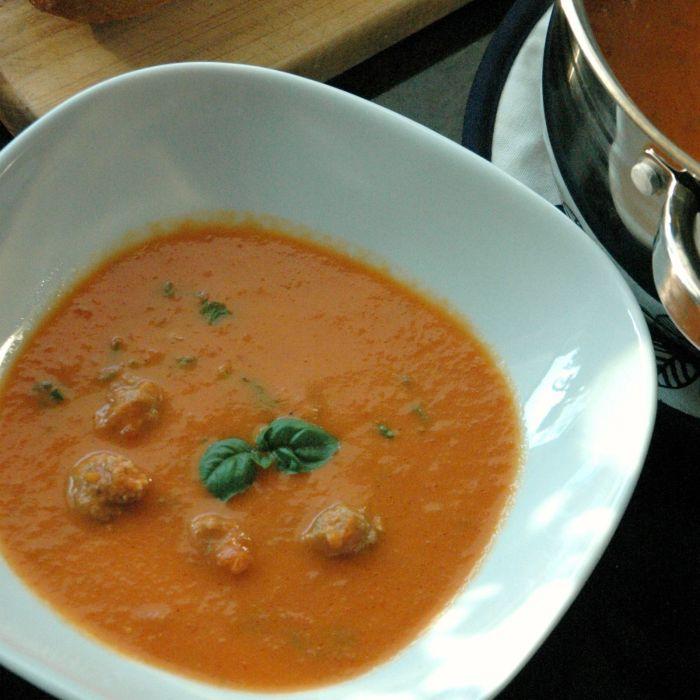 Tomaten soep maken (makkelijk en zonder pakje of zakje)