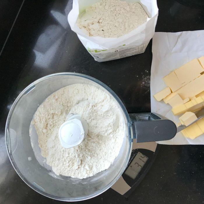 Deeg voor hartige taart