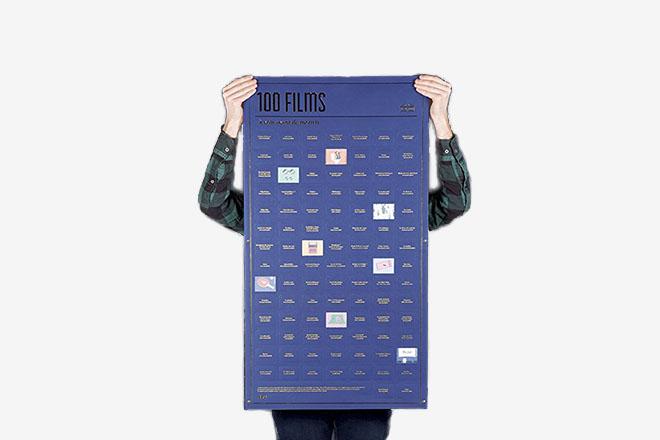 Poster 100 films à voir de DOIY Design