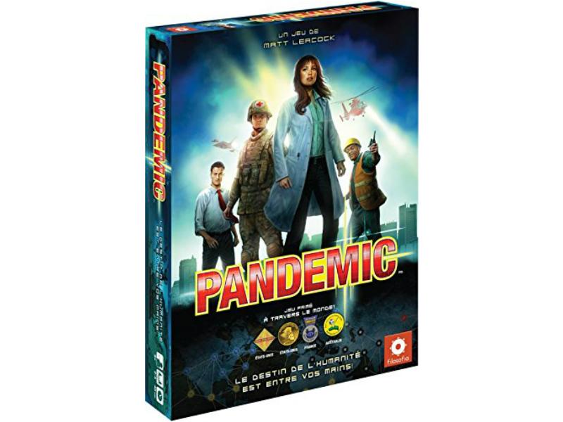 Meilleurs jeux de societe - Pandemie