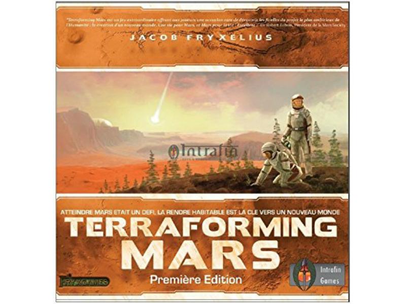 Meilleurs jeux de societe - Terraforming Mars