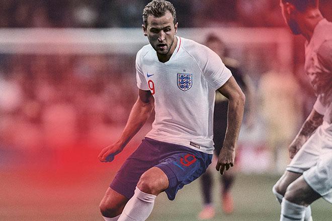 Angleterre - Maillot domicile Coupe du Monde 2018