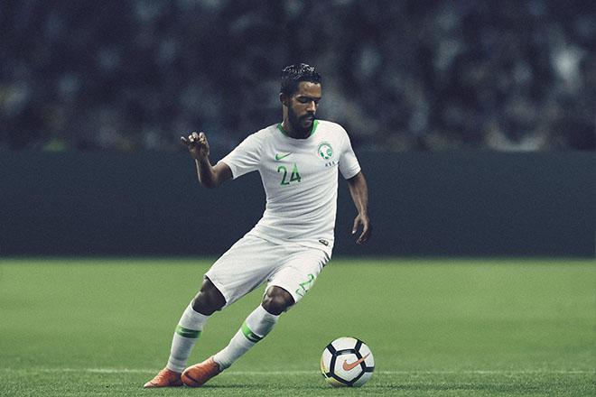 Arabie Saoudite - Maillot domicile Coupe du Monde 2018
