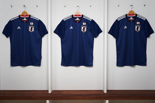 Japon - Maillot domicile Coupe du Monde 2018