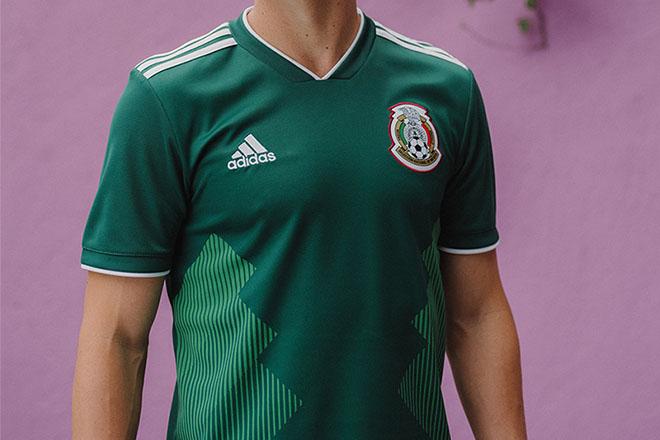 Mexique - Maillot domicile Coupe du Monde 2018