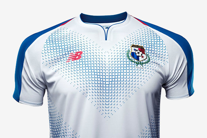 Panama - Maillot extérieur Coupe du Monde 2018