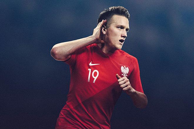 Pologne - Maillot extérieur Coupe du Monde 2018