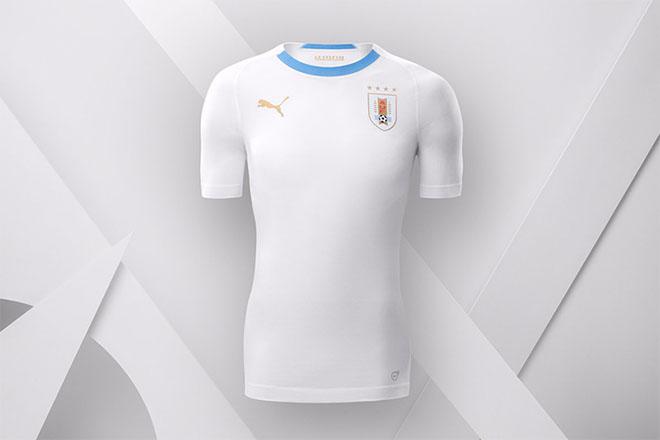 Uruguay - Maillot extérieur Coupe du Monde 2018