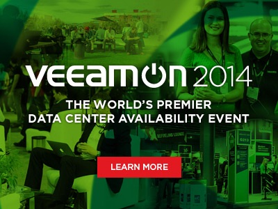 VeeamON 2014: Conference Season Veeam Style