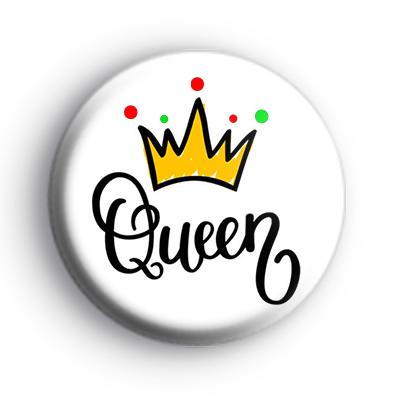 Queen Crown Badge Kool Badges