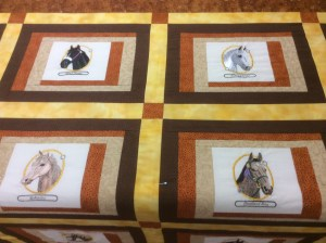 Margaret equine quilt