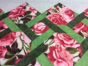 Lyn's roses quilt 1