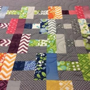 Merryl grey quilt