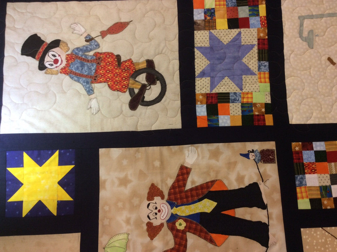 Edge to edge quilting over applique and stitchery quilts u2013 koolkat