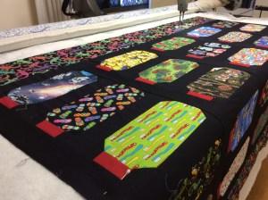 Allyson - grandson quilt