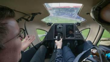 Bilim Kurgu Filmi Değil Gerçek: Drone Taksi İlk Uçuşunu Gerçekleştirdi