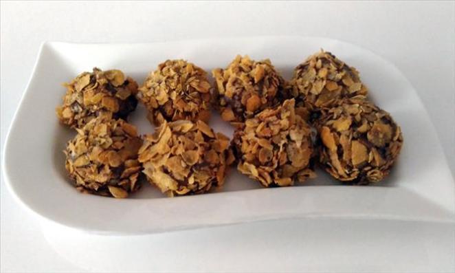 Birkaç Dakikada Hazır, Nefis Tatlı Tarifleri mısır gevrekli kurabiye