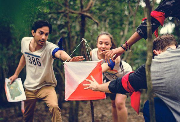 Ormanlık Bir Arazide Bir Asker Gibi Koşarak Satranç Oynamak: Oryantiring