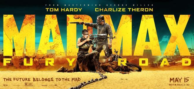 mad max fury road filmi afiş