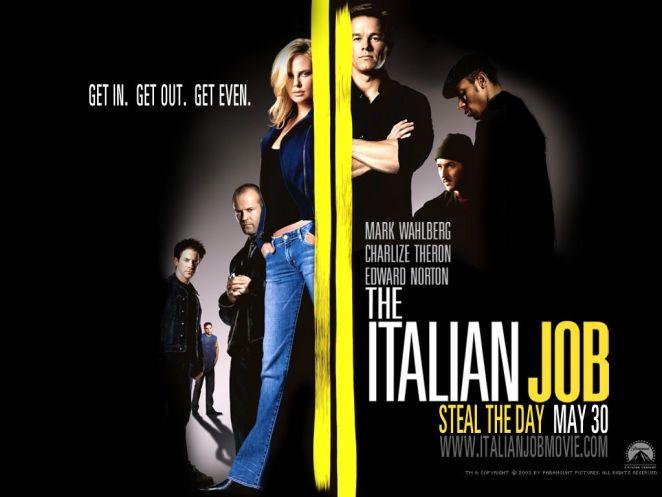 italian job afiş