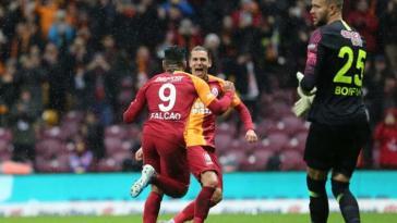 Galatasaray, Falcao ile...