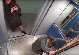 Asansörde Karşılarında Bir Anda Putin'i Gören Rusların Tepkisi