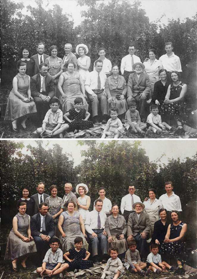 Eski Aile Fotoğrafı
