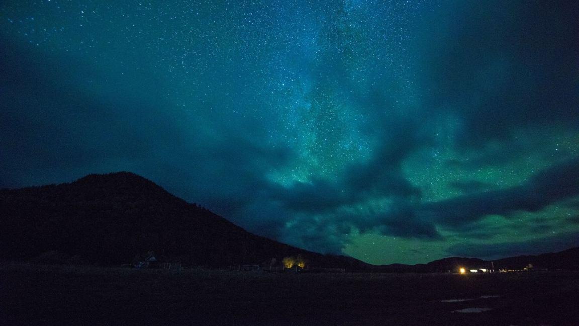 gece fotoğraf çekimi gökyüzü ve yıldızlar