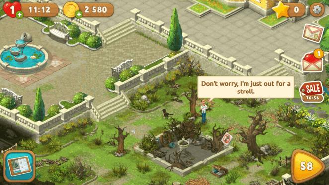Bağımlılık Yapan Mobil Oyun: Gardenscapes