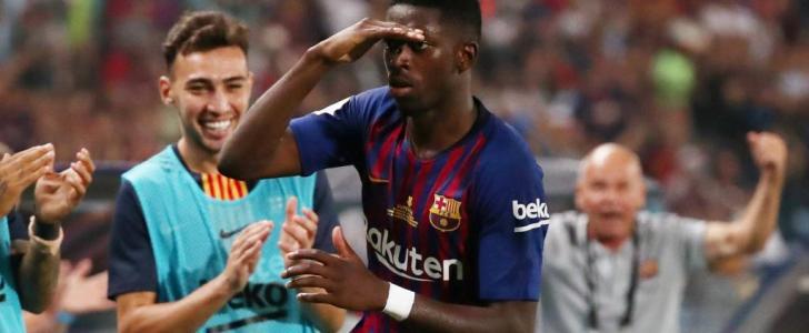 فيديو : اهداف مباراة برشلونة واشبيلية 2-1 تألق ميسي وهدف عالمى قاتل لديمبلى - كأس السوبر الإسباني