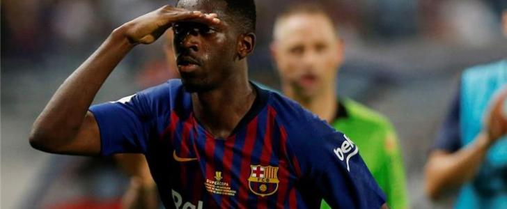 مان يونايتد ضد برشلونة .. ديمبلي يعود لقائمة البارسا وشرط وحيد للمشاركة