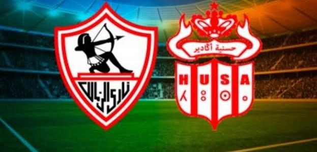 الكاف تعين حكما تونسيا لمباراة حسنية اكادير والزمالك المصري