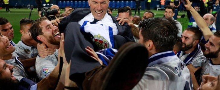 في إسبانيا: الليلة سيتم تعيين زيدان مدربًا للفريق