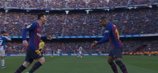 اهداف مباراة برشلونة ضد اسبانيول