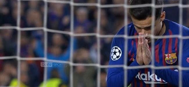 فيديو: هدف كوتينيو الثاني لبرشلونة في مرمى ليون
