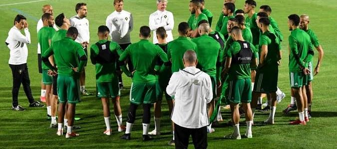 لاعب جديد يغيب عن تداريب المنتخب المغربي اليوم