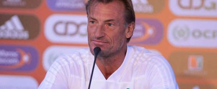 هيرفي رونار يعقد مؤتمرا صحفيا غدا السبت قبل مباراة ناميبيا