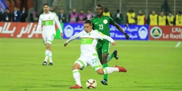 بن ناصر يغيب عن مران الجزائر استعدادا لموجهة كينيا