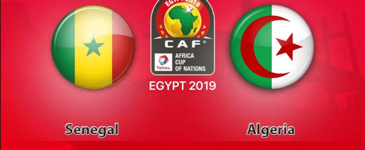 موعد مباراة الجزائر والسنغال اليوم