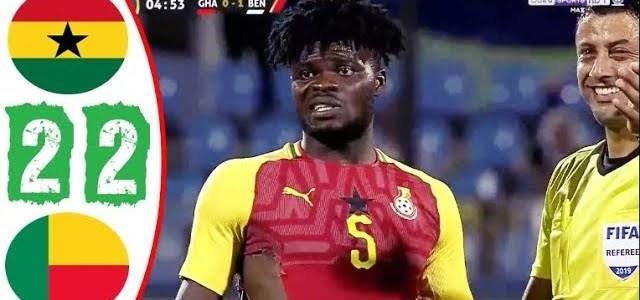 أهداف مباراة غانا وبينين 2-2 كأس الأمم الافريقية