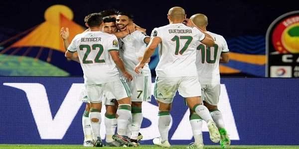 منتخب الجزائر يلتهم غينيا بثلاثية ويضرب موعدًا مع مدغشقر في ربع نهائي أمم إفريقيا