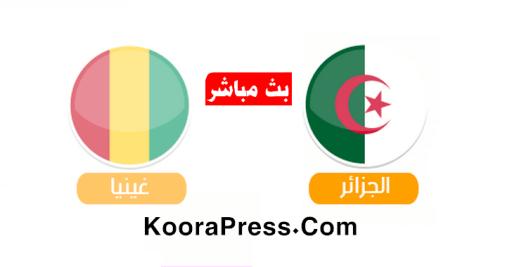 الجزائر وغينيا بث مباشر اليوم 7-7-2019 كاس الامم الافريقية
