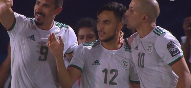 اهداف مباراة الجزائر وغينيا 3-0 كاس الامم الافريقية
