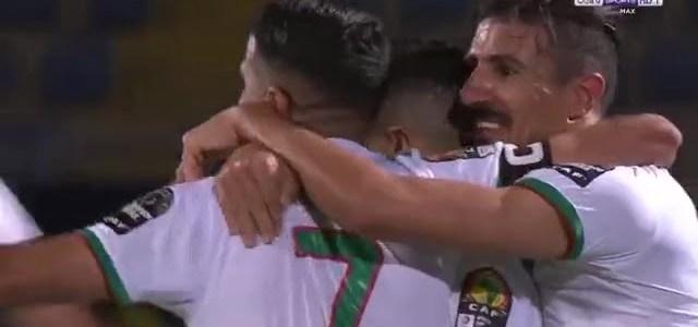 هدف الجزائر الثاني في مرمى غينيا