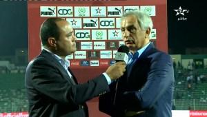 تصريح وحيد حاليلوزيتش بعد تعادل المغرب وليبيا (فيديو)