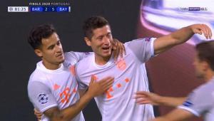 اهداف مباراة برشلونة وبايرن ميونخ 2-8 دوري ابطال اوروبا