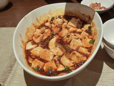 おなじみ「マーボー豆腐」
